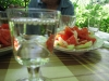 Мещица: ракийка и салатка